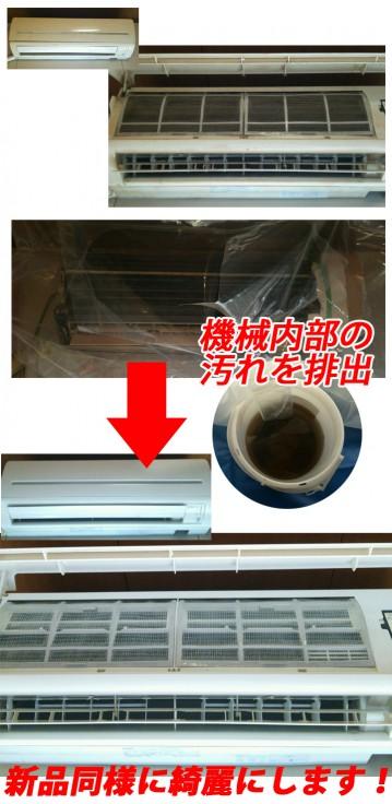 エアコンのお掃除、クリーニング